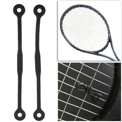 3Pcs Long Shock Absorber Shockproof Damper Part for Sports Tennis Racquet String