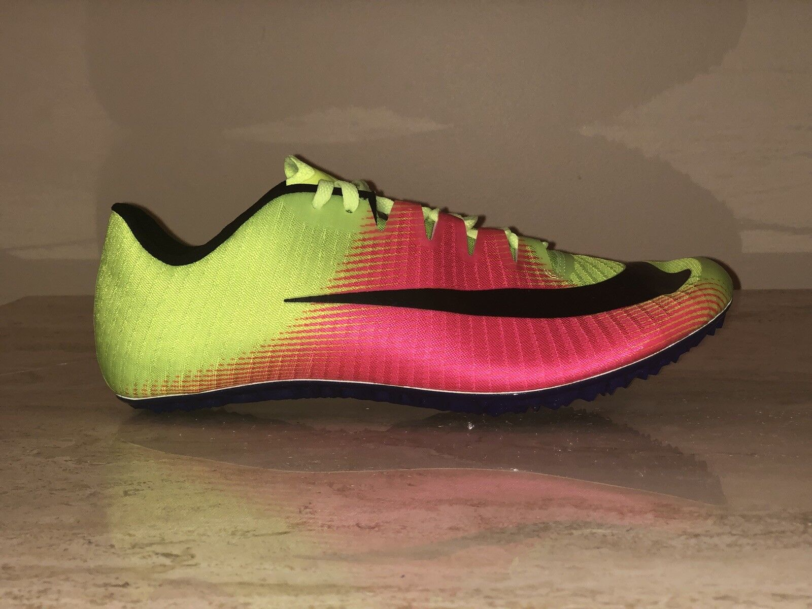 Nike Zoom JA FLY 3 OC Rio Track & Field Spikes Volt 882032-999 Men's US 10 & 11 Comfortable and good-looking