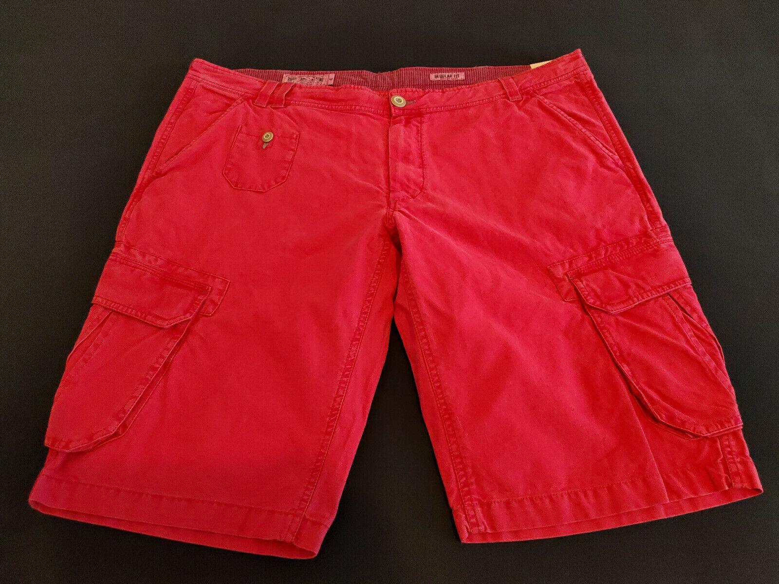 Malboro CLASSICS MCS, Pantaloncini, Tg. US 42, rosso, Lino + + + BW, UVP = 95,- EURO, NUOVO  c7f8ef