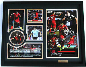 New Luis Suarez Signed Limited Edition Memorabilia