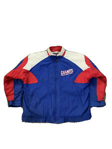 Apex-One-NY-Giants-Full-Zip-Diamond-Insulated-Jacket-Vintage-90s-NFL-Blue-Red