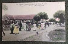 CPA. CONAKRY. Guinée Française. Le Temple Protestant. 1907.