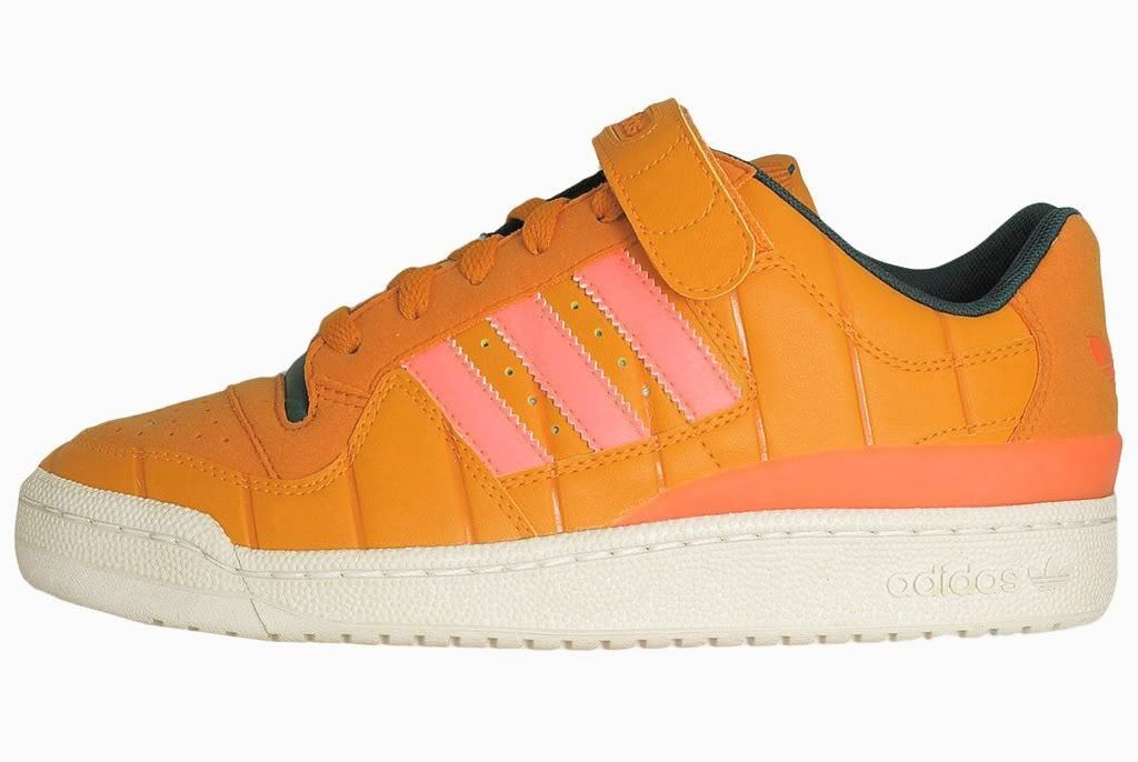2009 ADIDAS CONSORTIUM FORUM LO PUMPKIN Gr.43-46 mid G02897 superstar undftd low