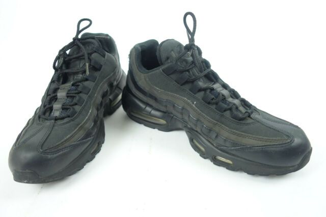 Nike Men's Air Max 95 Premium SE Shoes: Black Metallic