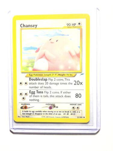 Uncommon Neo Destiny NM 31//105 Pokemon Card CHANSEY