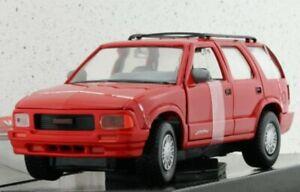 GMC Jimmy - 1994 - red - MotorMax 1:24