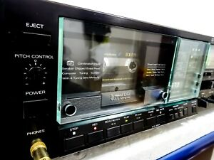 Alpine Al 90 3 Heads Cassette Deck Ultra Rare Custom Trim Serviced Excellent Ebay