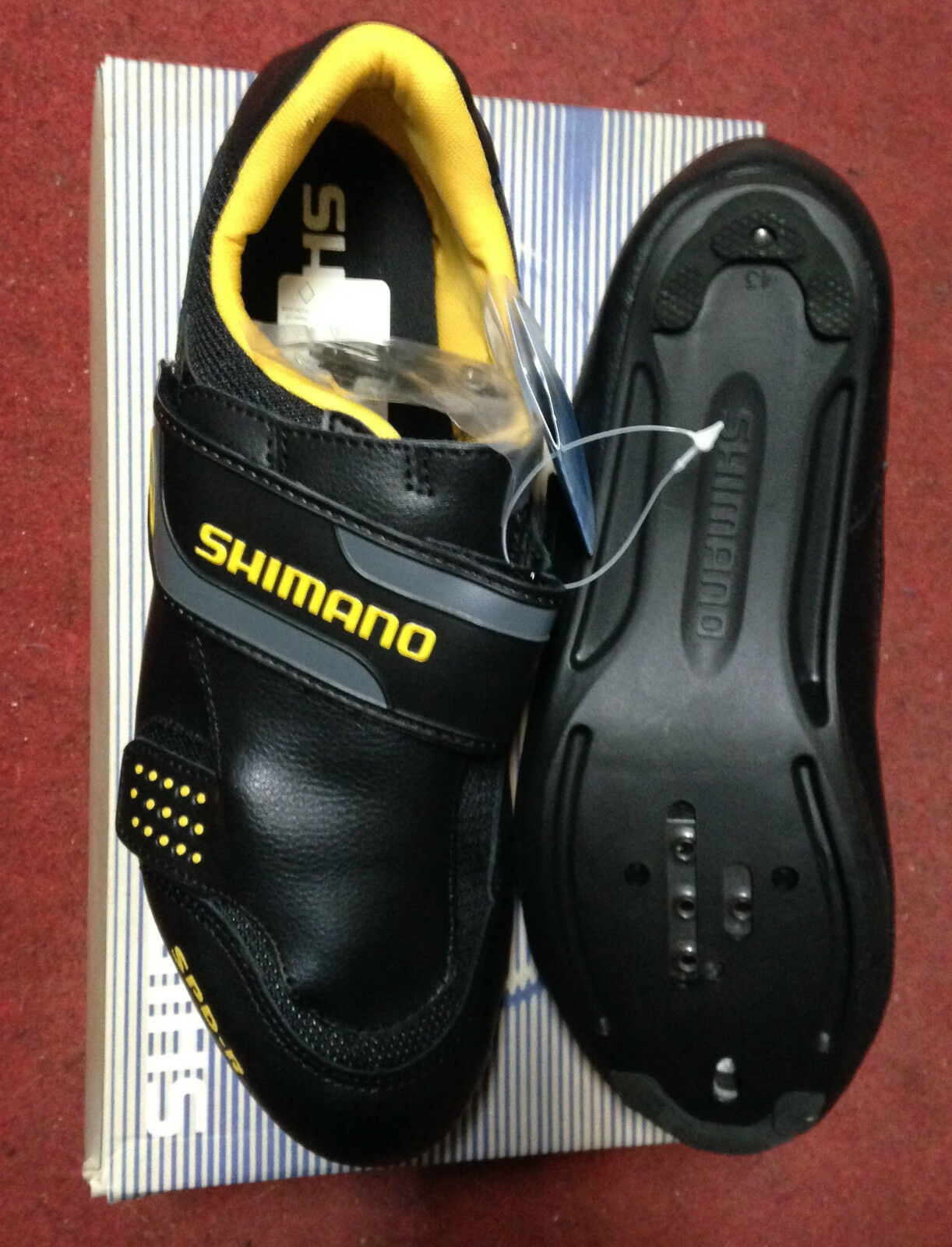 zapatos bici corsa Shimano SH-R072 racing road bike zapatos 37 38 39 40 43 46