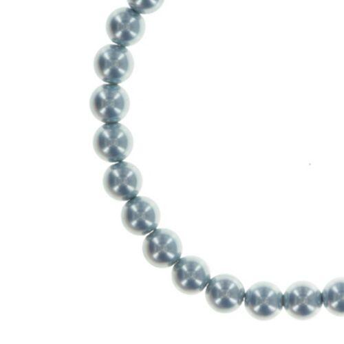 Konplott pulsera Chameleon azul//marrón azul elástico plata