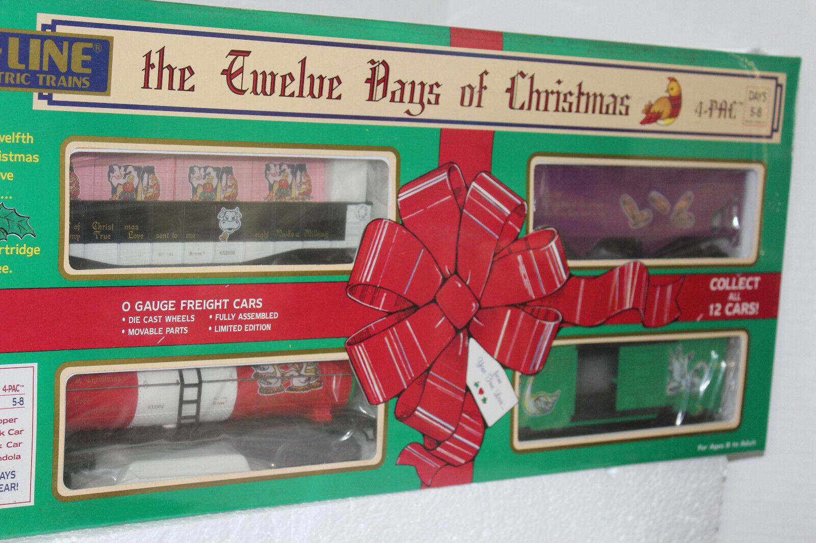 K-Line 12 días de Navidad 4 Pack de 5 a 8