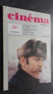 Revista Cinema Septiembre 80 N º 261 Buen Estado
