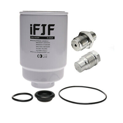 For Duramax Fuel Filter,Ported Fuel Rail,Diesel Fuel Pressure Relief Valve