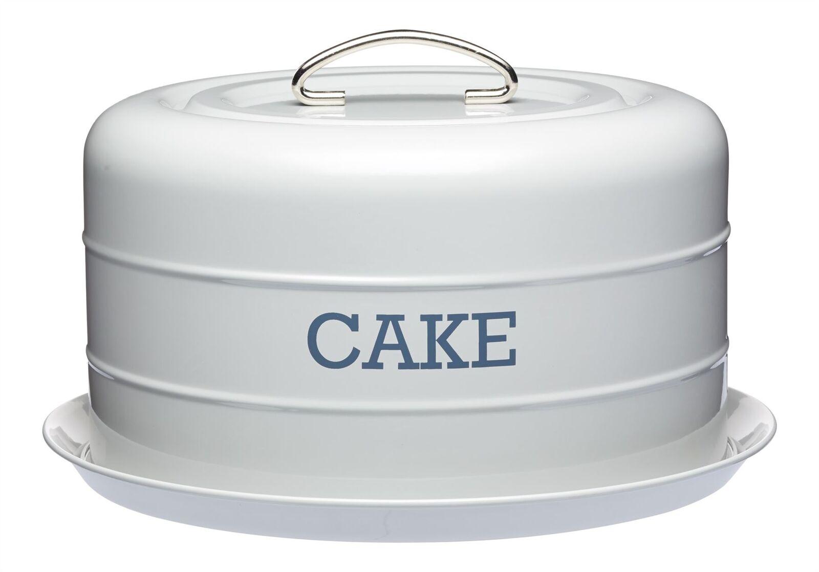 Living Nostalgia French grau Domed Cake Tin   Starker Wert