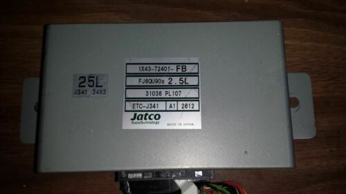 2001 2002 2003 2004 2005 JAGUAR X TYPE V6 2.5 TRANSMISSION MODULE 1X43-72401-FB