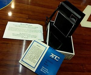 AITC-AM-POCKET-RADIO-SOLID-STATE-7-MODEL-P-70-BLACK-IN-BOX-needs-work