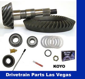 Yukon Complete Gear and Kit Pakage for F350 Dana 80 Rear /& Dana 60 Reverse Thick Front with 5:13 Gear Ratio