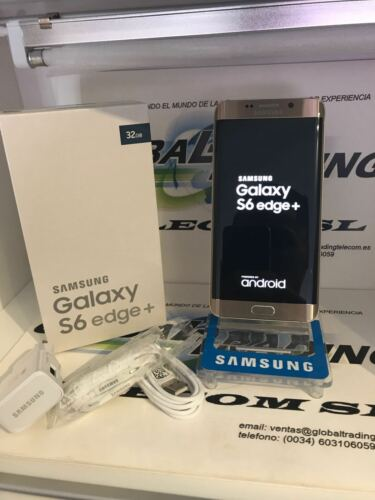 1 of 1 - SAMSUNG GALAXY S6 EDGE PLUS SM-G928F 32GB GOLD MINT CONDITION GRADE TO
