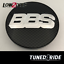 BBS-Orig-Felgendeckel-Embleme-Center-Caps-Badges-Carbon-Silber-65mm-Typ-E Indexbild 1