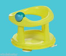 Saftety 1st Baby Badesitz lemon drehbar Wanne Sicherheit Pflege Wasser Spielzeug