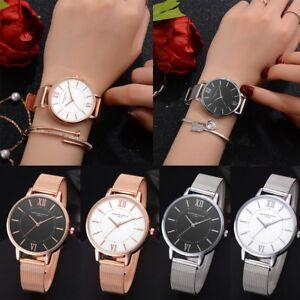 Reloj-de-pulsera-para-mujer-Casual-de-moda-banda-de-cinturon-de-malla-de-Cuarzo-Relojes-de-pulsera