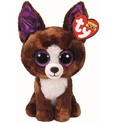 Ty Beanie Babies 36878 Boos Dexter the Brown Chihuahua Boo