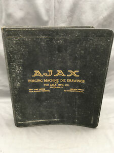 1920-039-s-Ajax-Forging-Machine-Die-Drawings-Cleveland-Ohio-Socket-Wrench-DD351