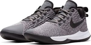 sports shoes ed556 6ac6c Details about Nike Lebron Witness 3 III Grey/Black/White Oreo Basketball  Shoes 2018 All NEW