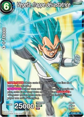 Dragon Ball Super Vegeta plus puissant que jamais P-030 PR VF