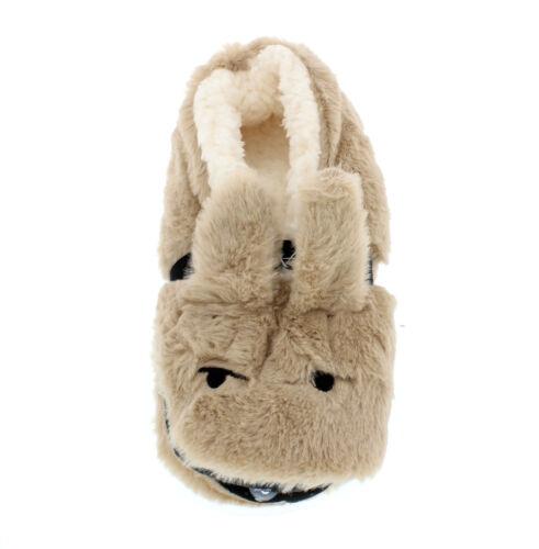 crème//rose//marron//gris Femme Nouveauté Moelleux Doux Bunny Rabbit Slippers