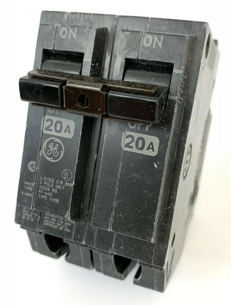 2 pole 100amp 120//240 GE General Electric Circuit Breaker