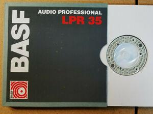 """BASF Audio Professional LPR 35 Reel To Reel Tape (6.3mm x 1100M)(1/4"""" x 3600')"""