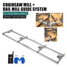 Ladder Connector 9ft 5ft Milling Rail System Chainsaw Mill Guide Set Ladder Us