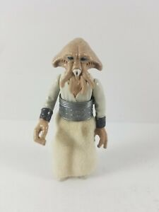 Vintage-1983-Kenner-Star-Wars-Squid-Head-Figure-with-Belt-No-Cape-Original-HK