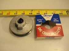 "5//8/"" bore Vee belt A 0404. Die Cast Pulley 1-3//4/"" dia"