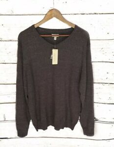NWT-Mens-Sonoma-V-Neck-Gray-Pullover-Winter-Sweater-Size-XL-Casual-45