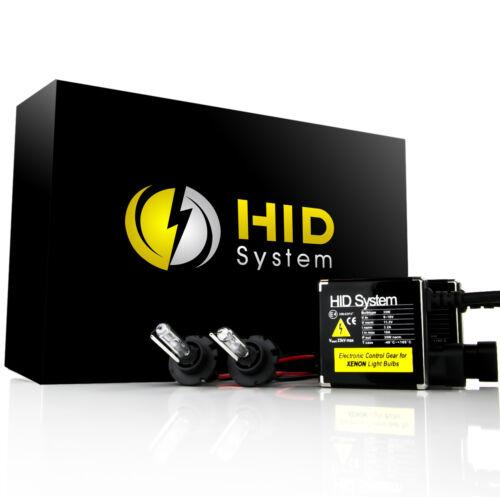 HID System Premum Hid kit H4 HB2 9003 6000K High//Low Diamond White HID Xenon Kit
