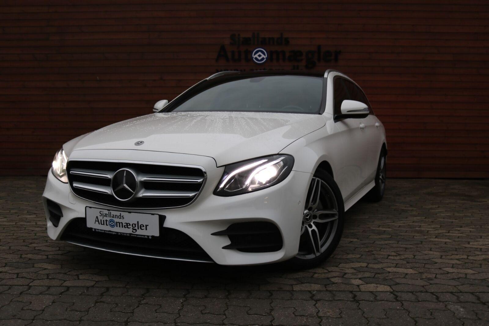 Mercedes E220 d 2,0 AMG Line stc. aut. 5d - 2.484 kr.