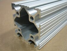 80//20 T-Slot Aluminum Extrusion Smooth 15 Series 1515-S x 62 Full Black SC F2-10