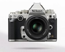 Nikon Df Camera, Full Frame, Silver,  50mm F/1.8 Special Ed lens, Box, EXTRAS