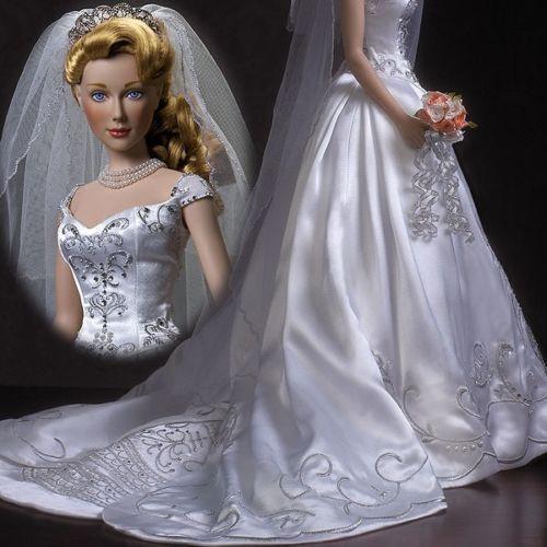 Franklin MINT   Stasya-Pearl  of the Rouomoovs  Bride bambola, NRFB  ecc. Tonner bambola   prezzo all'ingrosso