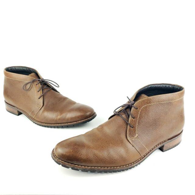 BHFO 8909 D Cole Haan Mens Rayond Grand Brown Chukka Boots Shoes 12 Medium