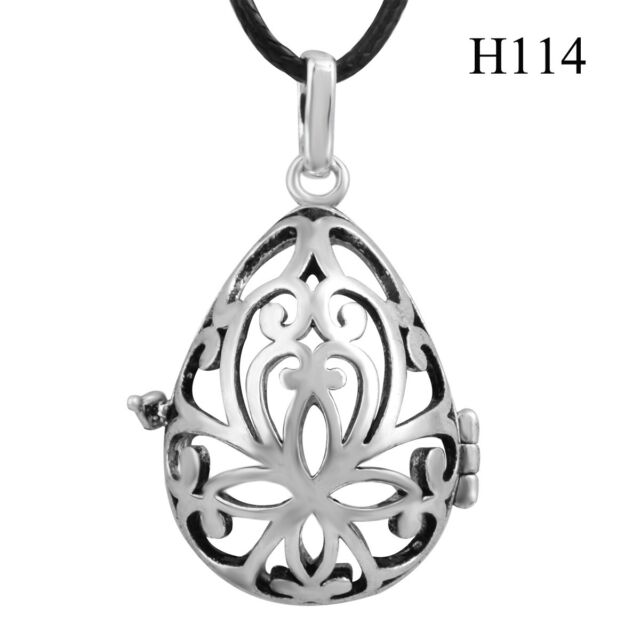 aromatherapy pendant lockets sterling silver jewelry  for 18/20mm ball harmony
