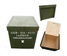 Finn. Transportkiste Holz K21 gebraucht Holzkiste Truhe Werkzeugbox