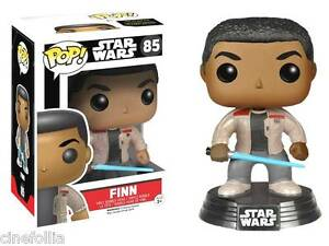 Star Wars 85 the Force Réveille-Finn avec sabre laser POP Vinyl Figure
