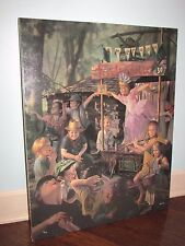 """BOB BYERLEY """"Travelling Ballet"""" Giclee Canvas Signed 5/395 Hand Highlights!"""