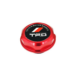 TRD Blue TRD Racing Stainless Steel Engine Oil Filler Cap Oil Tank Cover for TOYOT A TRD.