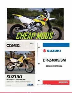 Details about DRZ400S DRZ400 MODS + Service Manual + Claymer e BOOK ***  SPECIAL OFFER ***