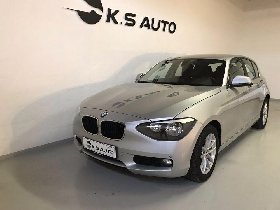 BMW 116d 2,0 aut. Diesel aut. modelår 2014 km 111000