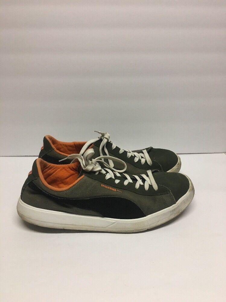 PUMA Men's Brown Canvas Casual Athletic Shoes Comfortable Cheap women's shoes women's shoes