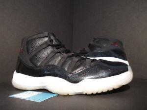 detailed look da3fb 02d8a 2015 Nike Air Jordan XI 11 Retro 72-10 BLACK GYM RED WHITE GREY BRED ...